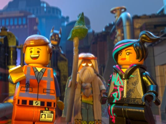 'The LEGO Movie': Meet the gang