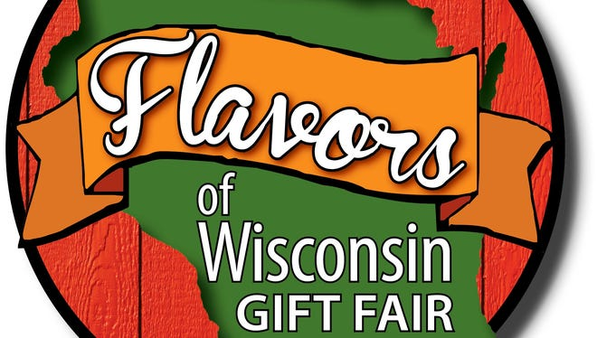 Flavors of Wisconsin Gift Fair logo.