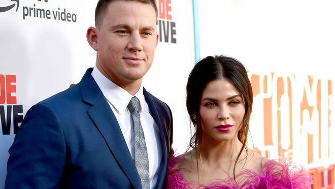Channing Tatum and Jenna Dewan Tatum shared the funny makeover photos of their 4-year-old daughter on Instagram.