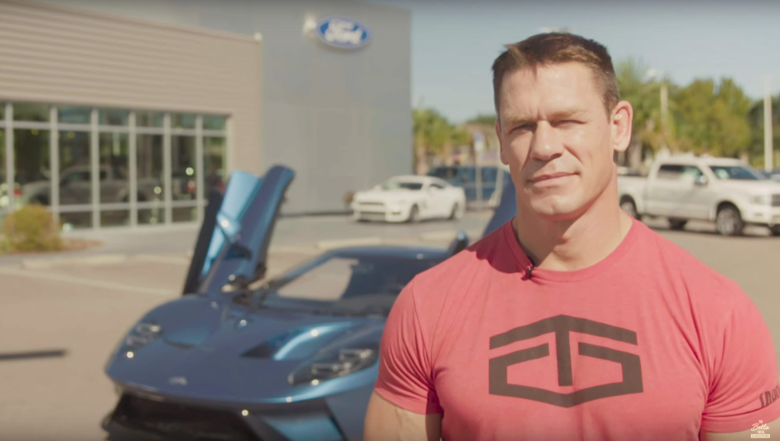 John Cena Sued For Flipping His Ford Gt