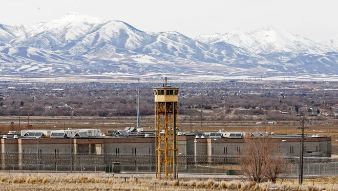 This Feb. 19, 2013, file photo shows the Utah State Prison in Draper, Utah. A new state report finds that each death row inmate in Utah costs $1.66 million more in taxpayer money than one sentenced to life in prison without parole.