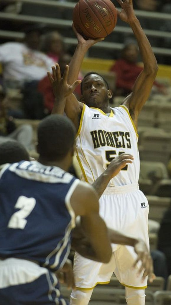 Alabama State freshman guard Steve Rogers Jr., an Brew Tech graduate, was named the school's rookie of the school year.