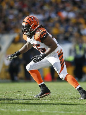 Vontaze Burfict has been a big factor for the Bengals in his first five years with the organization.