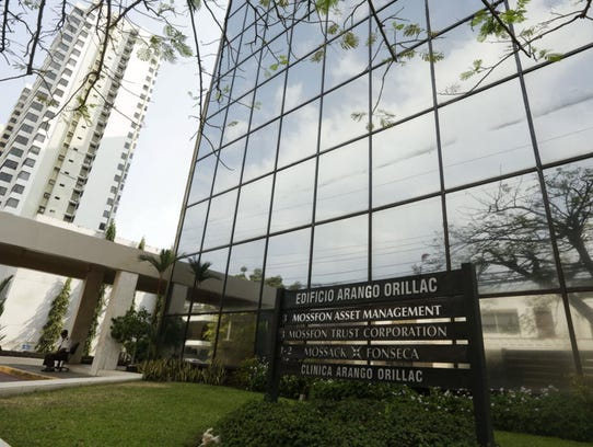 The offices of Panama law firm Mossack Fonseca in Panama