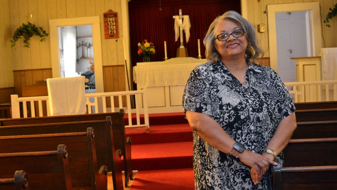 Phyllis Culbert with the church is the coordinator for the Augustana Lutheran Church's 90th anniversary celebration set for Sept. 7.