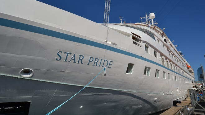 Windstar Cruises unveiled its first new ship in nearly two decades, the Star Pride, on April 5, 2014.