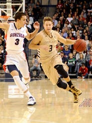 USP NCAA Basketball_ Oakland at Gonzaga