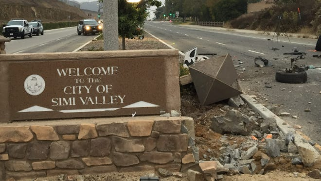 A 30-year-old man was killed in a crash on Madera Road early Saturday in Simi Valley, officials said.