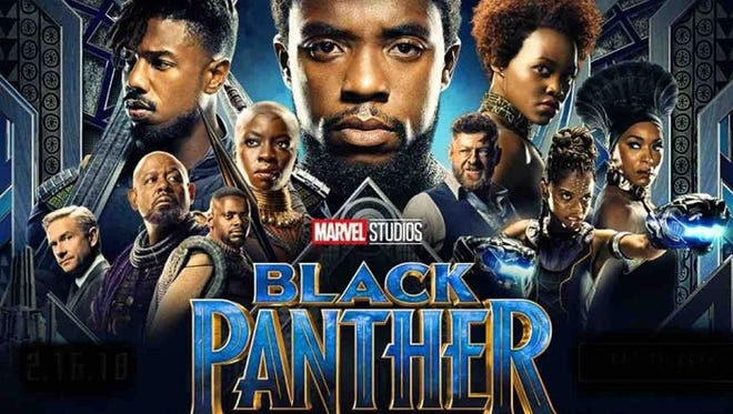 """Black Panther"" will be shown for free Saturday night. during the Iowa Soul Festival."
