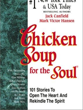 'Chicken Soup for the Soul' became a self-help force in the book world.