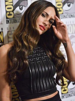 "Megan Fox attends the ""Teenage Mutant Ninja Turtles"" press line on Day 1 of Comic-Con International on Thursday, July 24, 2014, in San Diego."
