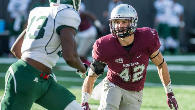 Montana Grizzly senior linebacker Josh Buss has been named preseason defensive player of the year in the Big Sky Conference.