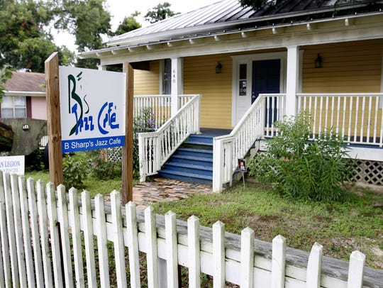 B Sharps Jazz Cafe opened in a historic home in Frenchtown.
