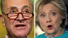 Poll: Clinton, Schumer hold big leads in New York