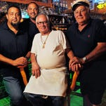 Raul, Rudy, Rodolfo and Raul Barrial at El Charro in Cocoa.