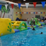Wibit is an aquatic obstacle course, located at the Natatorium in Great Falls.