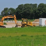 Construction has begun on the Recovery Works addiction treatment facility along Indiana 1 north west of the interchange with Interstate 70, Friday, July 22, 2016