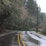 Slide closes River Road South early Tuesday