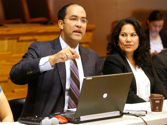 Will Hurd during a stop in El Paso (3/31/16) during