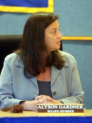 Chappaqua school board President Alyson Gardner