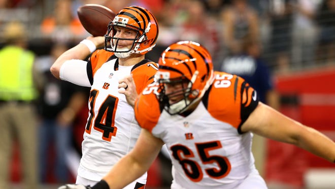 Quarterback Andy Dalton hopes to lead the Cincinnati Bengals into the playoffs again and finally win a game after three playoff first-round exits