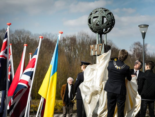 EPA NETHERLANDS MH17 FLIGHT MEMORIAL ACE MONUMENTS & HERITAGE SITES NLD