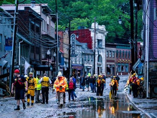 Ellicott City Flood Devastation Stunning Videos Photos