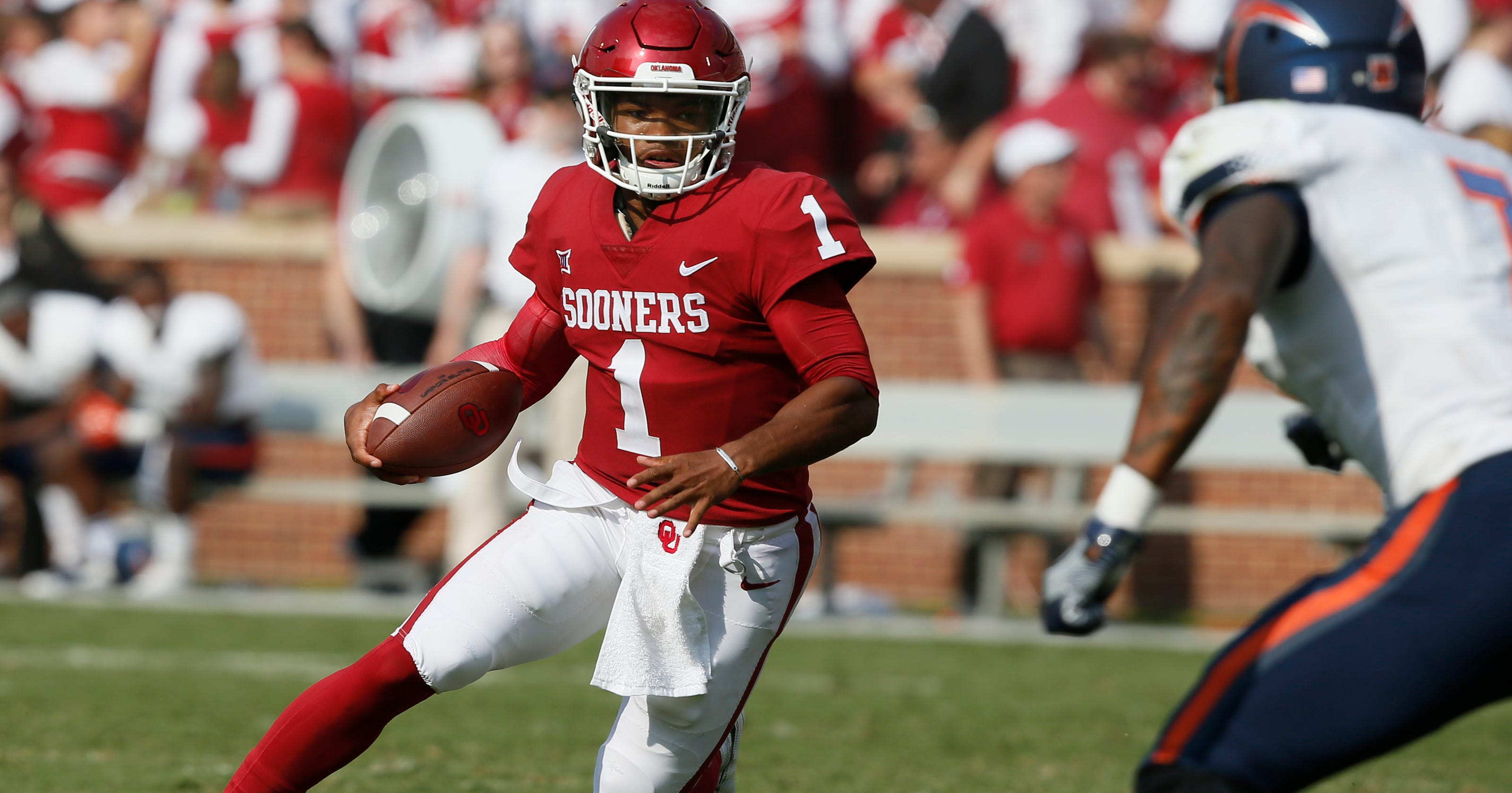 3ebc48670 Kyler Murray taking detour from MLB career to try and lead Oklahoma to  national title