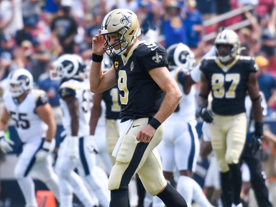 Drew Brees will miss time, Saints' Super Bowl odds to be hit hard