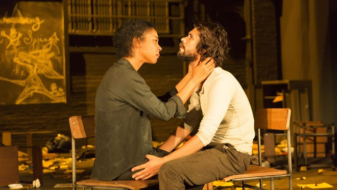 Sophie Okonedo and Ben Whishaw star in the Broadway revival.
