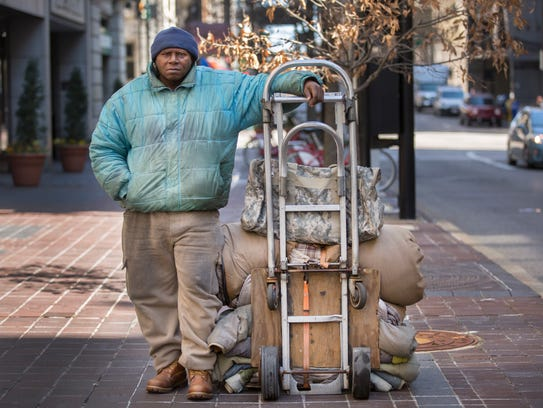 William 'Willie' Brown, 57, has been living on the