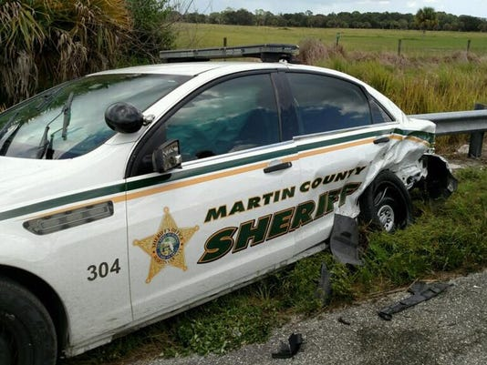 Deputy-involved crash in Indiantown