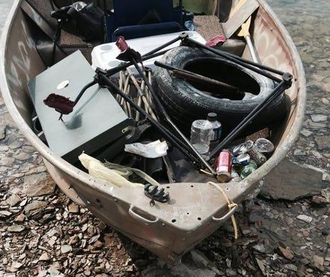 Watch Story: Trash left behind on Lake Ouachita islands
