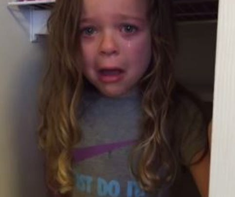 5 year old has a meltdown over the T.J. Oshie trade