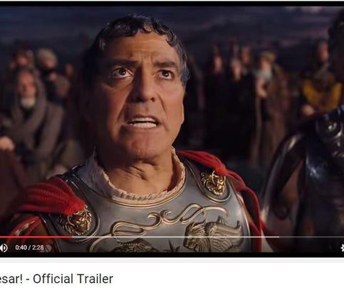 Screenshot of George Clooney in The Coen Brothers new film, 'Hail, Caesar!'