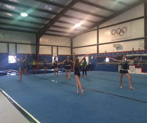 Gymnasts Collects Shoes PKG