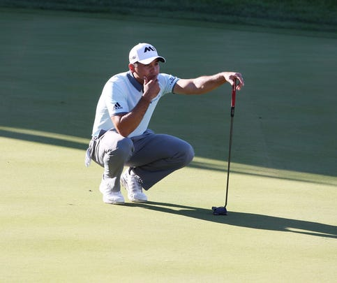 Day runs in place at BMW, but still leads by 6 shots