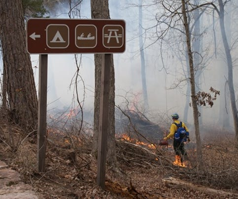 Buffalo National River is planning to conduct prescribed fire operations between October 7 and November 31, 2015.