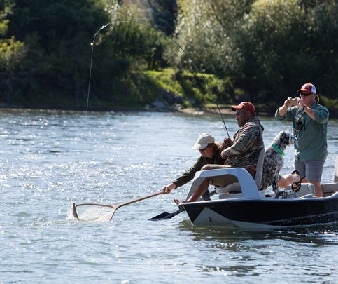 The Warriors and Quiet Waters Foundation helps traumatically combat-injured veterans to experience the healing powers of fly fishing in Montana.