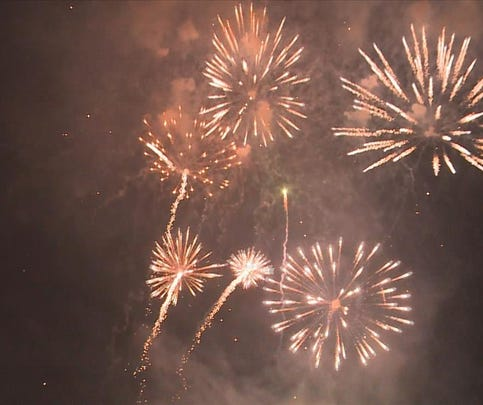 Columbia's Fireworks Display