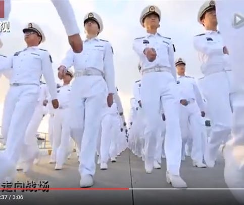 China's PLA recruiting video geared toward young people