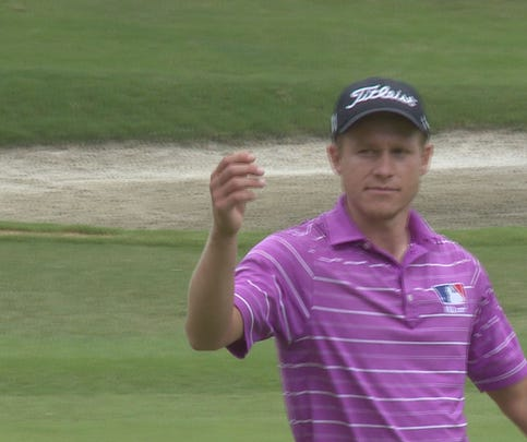 Dandridge's Peter Malnati had a solid first round of the News Sentinel Open