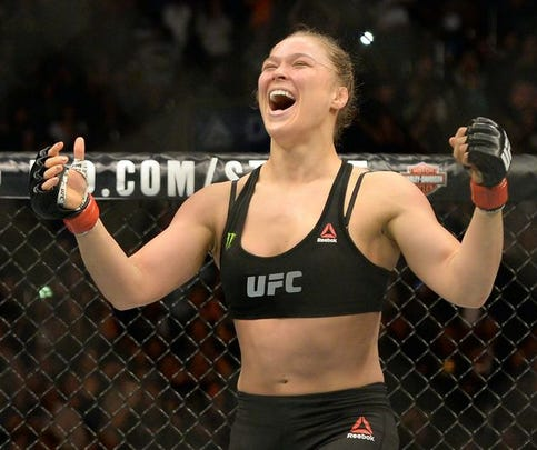 Ronda Rousey has used her terrifying armbar to become one of the biggest stars in the UFC and the greater sports world. Rousey is 12-0 and the UFC women's bantamweight champion.