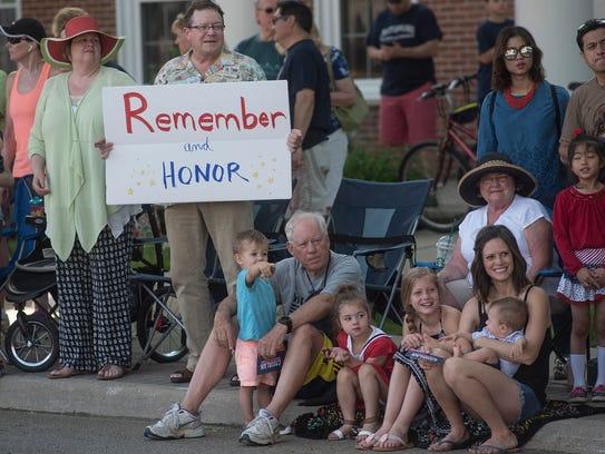 Plymouth Memorial Day Parade.