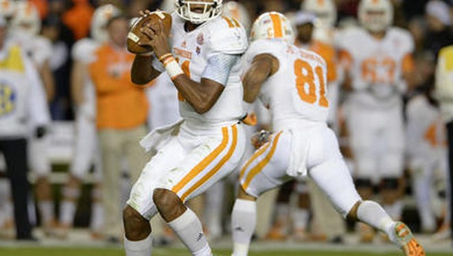Tennessee quarterback Josh Dobbs will get his first chance to play at The Swamp in Gainesville, Fla., on Saturday.