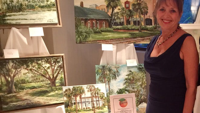 Local artist Debra Brienen has been invited for a solo exhibit at Cypress restaurant