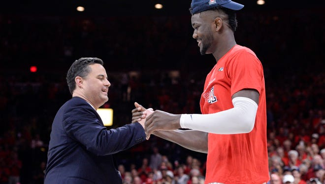 Could Sean Miller and Deandre Ayton get to the Final Four? Some 2018 NCAA Tournament predictions think so.