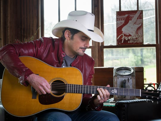 Brad Paisley is scheduled to release his new album