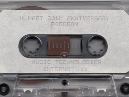 An in-store tape that played during Kmart's 30th anniversary