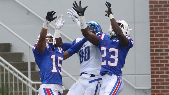 Louisiana Tech plays Middle Tennessee this September in a rematch of the Bulldogs' 2015 win in Ruston.